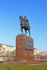 Monument of king Tomislav