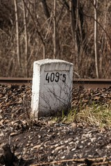 rail milestone..