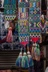 mayan woven textiles in chichicasenango