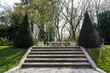 Stairs in a garden - 81375499