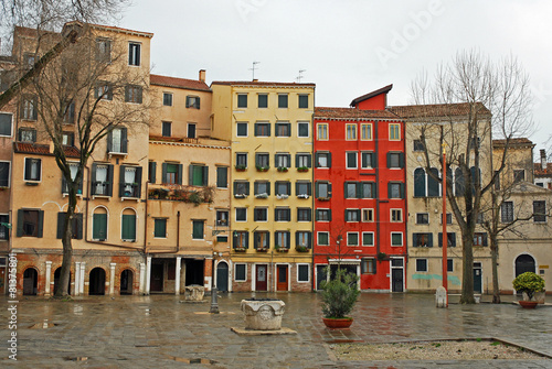 Foto op Aluminium Venice Venice, Italy, new Jewish ghetto