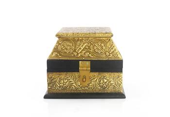 Vintage wooden Jewel Box