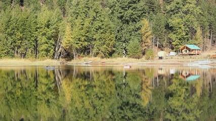 Cabin Reflections, Autumn