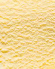 Fläche aus Vanilleeis