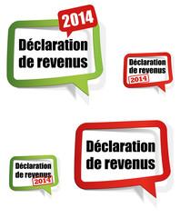 déclaration de revenus 2014 - 2015