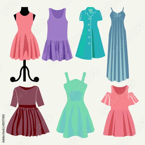 Fashion boutique -summer dresses - 81377610