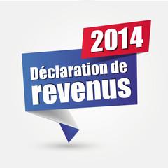 déclaration de revenus 2014