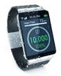 Leinwandbild Motiv smartwatch and fitness