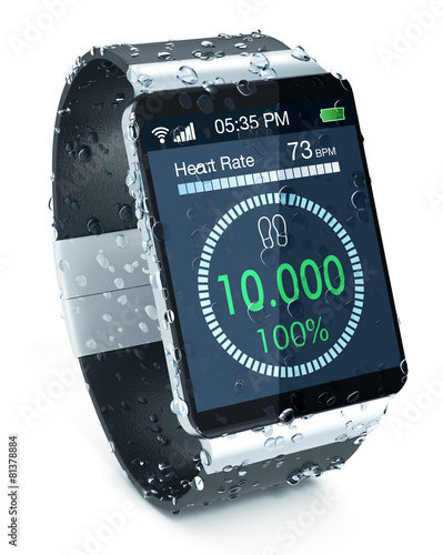 smartwatch and fitness - 81378884