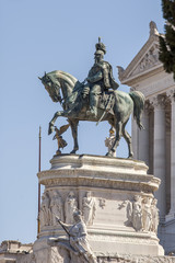 Rome, Italy. Monument to the Emperor Victor Emmanuil