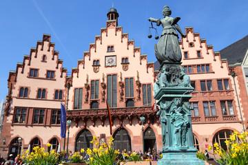 Frankfurt, das Rathaus (April 2015)