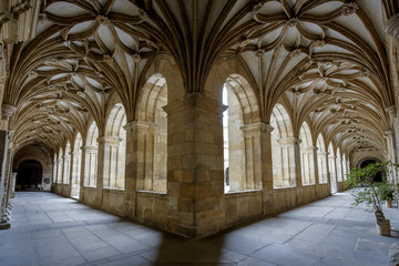 Cloister of Santa Maria Cathedral in Leon