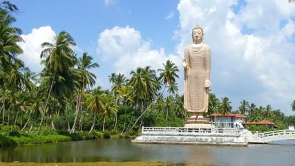 Peraliya Buddha Statue, the Tsunami Memorial in Hikkaduwa