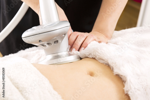 Slimming and cellulite laser treatment at clinic - 81383069