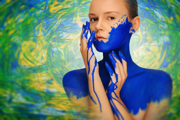 fashion with paint