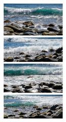 Kanaren / La Gomera: Wellen, Brandung