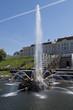 Leinwanddruck Bild - The fountains of Peterghoff