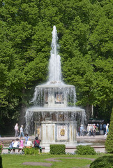 The fountains of Peterghoff