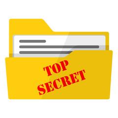 Icono carpeta TOP SECRET