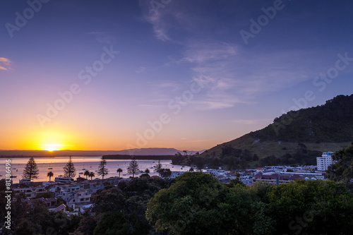Foto op Aluminium Strand Mt Maunganui - New Zealand