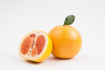 Isolated grapefruit