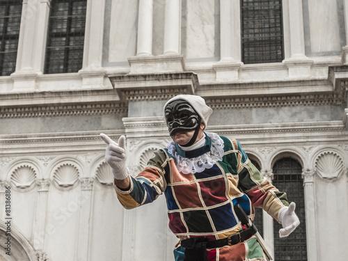 Foto op Plexiglas Venetie Arlecchino a Venezia