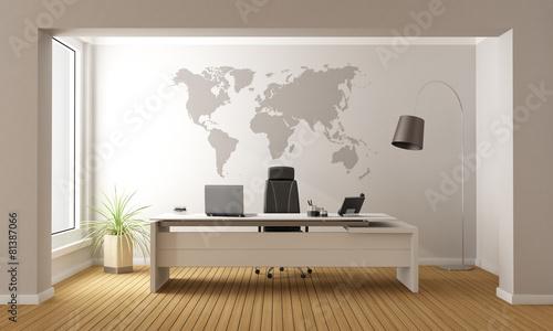 Minimalist office poster