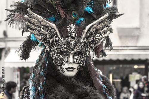 Aluminium Venetie Maschera a Venezia