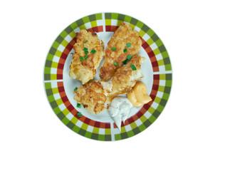 Cajun Catfish  with Tartar Sauce
