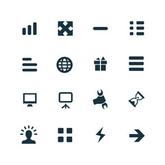webdesign icons set
