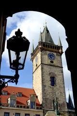 Old clock towe
