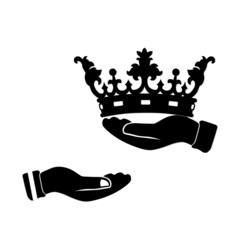 Hand with Crown