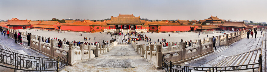 Chnia Forbidden city 01 panorama