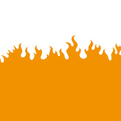 Vector background. Flame.