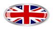 roleta: Union Jack Oval Button