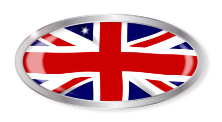 Union Jack Oval Button