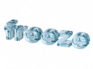 freeze - text