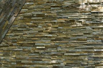 .  Stone wall texture