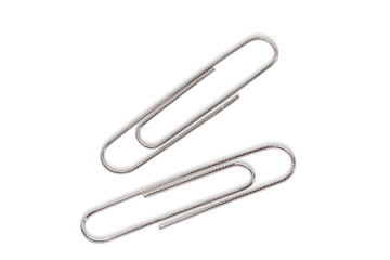 Two writing paper clips