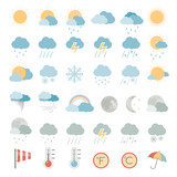 Flat Icons - Weather - 81398054