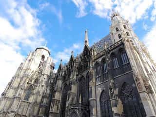 St. Stephan cathedral in Vienna Austria. Landmark architecture