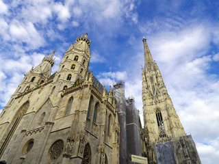 St. Stephan cathedral in Vienna Austria. Landmark architecture