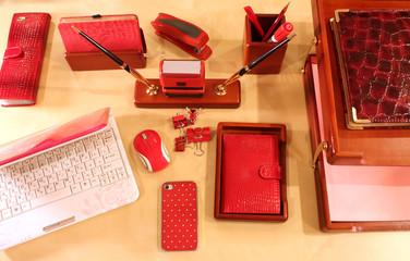 Stylish desktop for business lady