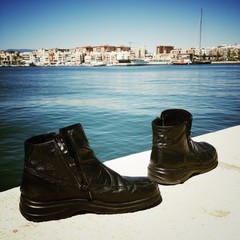 boots on the port