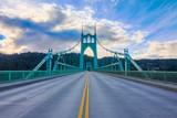 St. John's Bridge in Portland Oregon, USA - 81400695