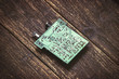 Old printed circuit board. - 81401006