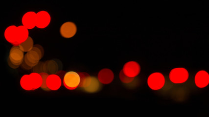 Blurred lights abstract color background.