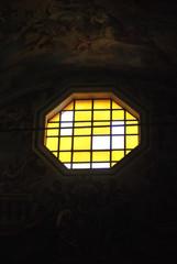 vetro barocco ombra affresco