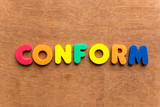 conform poster