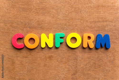 poster of conform